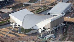 """""""Aquatics Centre, Olimpiade London 2012"""""""