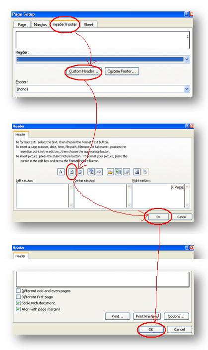 cara membuat nomor halaman di excell kang dadang blog
