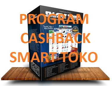 Cashback pembelian theme smart toko