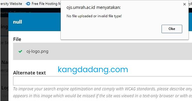 no file uploaded pada ojs 3.0