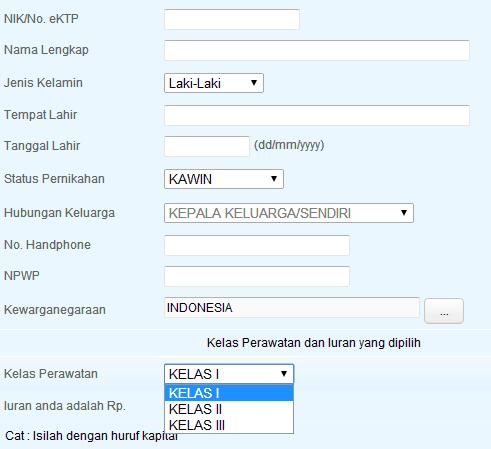 prosedur mendaftar bpjs kesehatan secara online